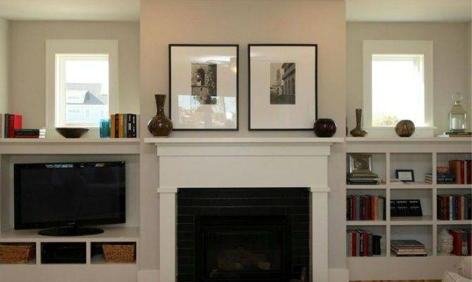 Craftsman Style Fireplace Built Ins Don Have Match