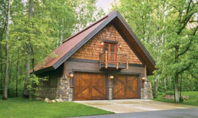 Craftsman Style Garage Hillside Apartment Plans