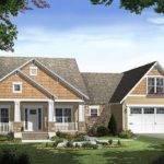 Craftsman Style Home Elevation