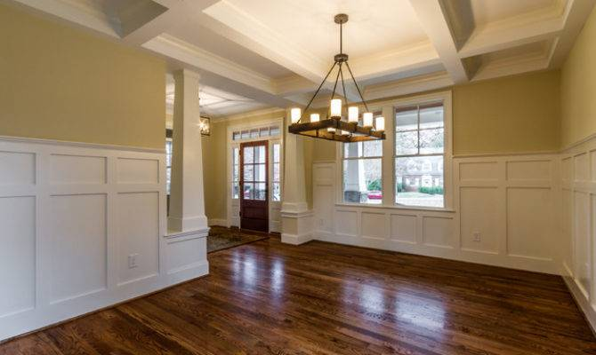 Craftsman Style Home Interiors Dining Room