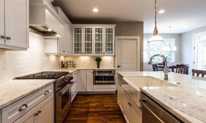 Craftsman Style Home Interiors Kitchen