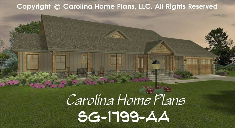 Craftsman Style Home Plan Affordable Small