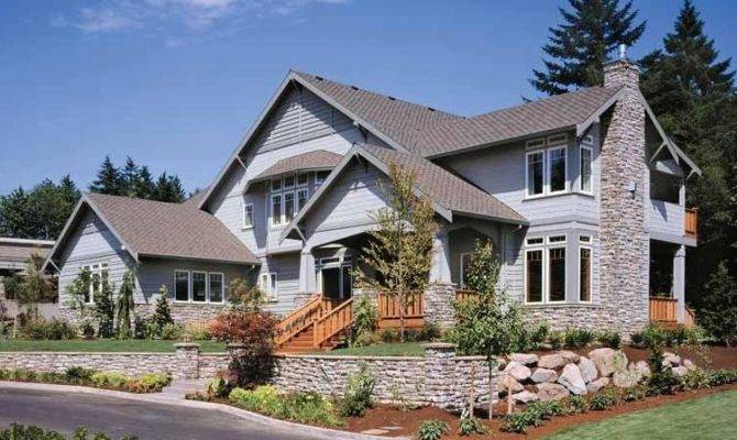 Craftsman Style Home Plans Detached Garage Source