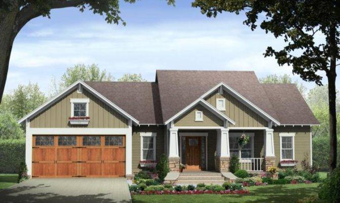 Craftsman Style House Plan Character America Best