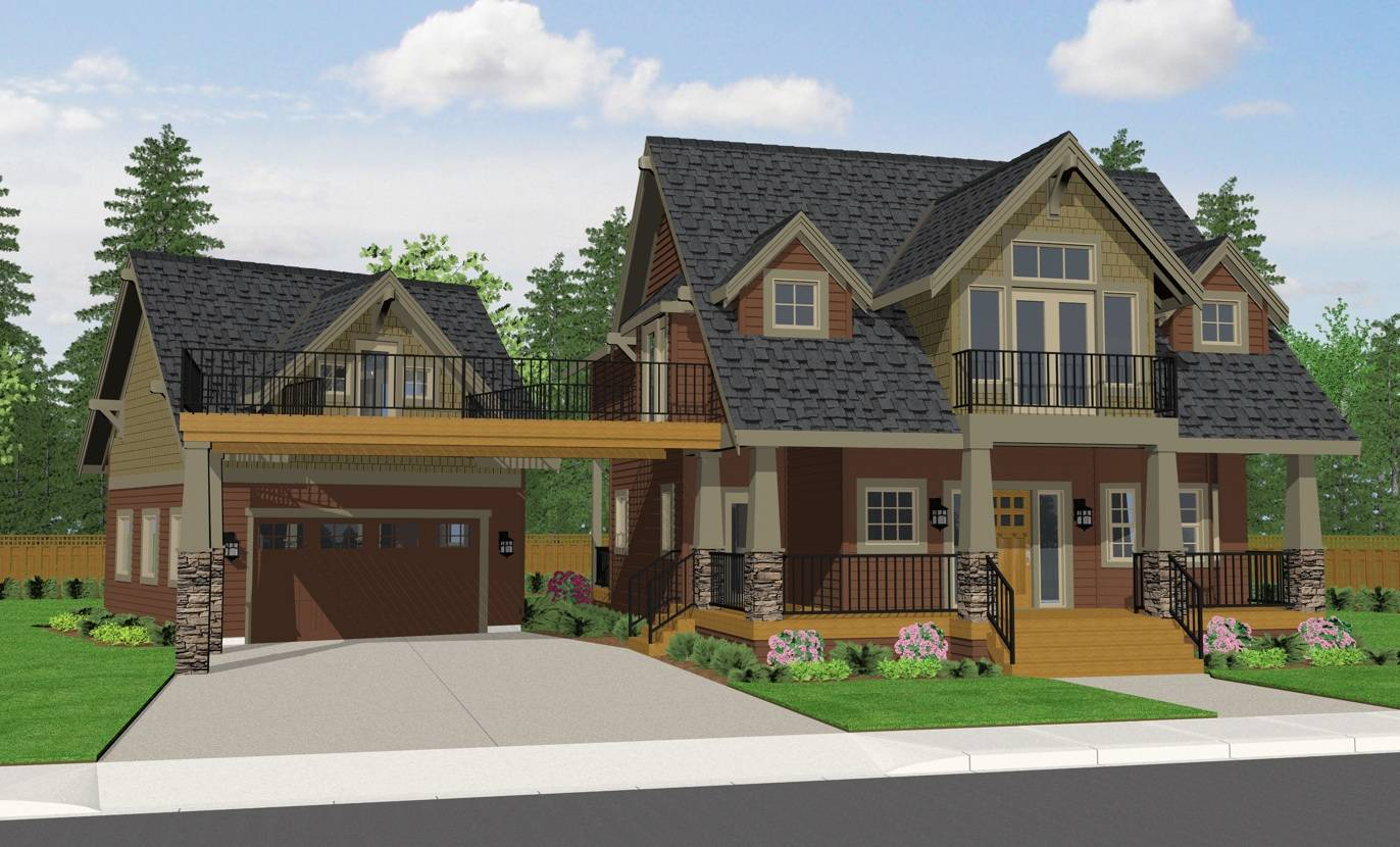 Craftsman Style House Plans Home Decoration