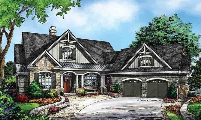 Craftsman Style House Plans Walkout Basement