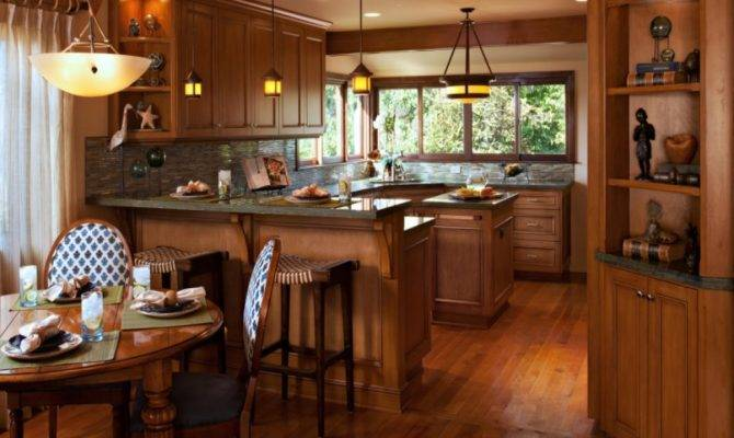 Craftsman Style Interior Design Kitchen Prairie