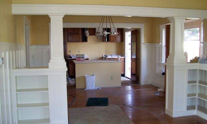 Craftsman Style Living Room Built Ins Google Search