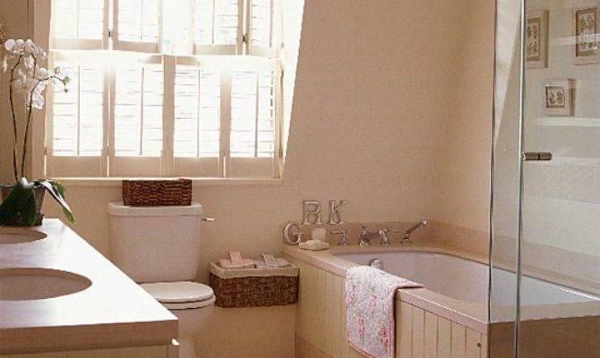 Cream Attic Bathroom Shutters Housetohome