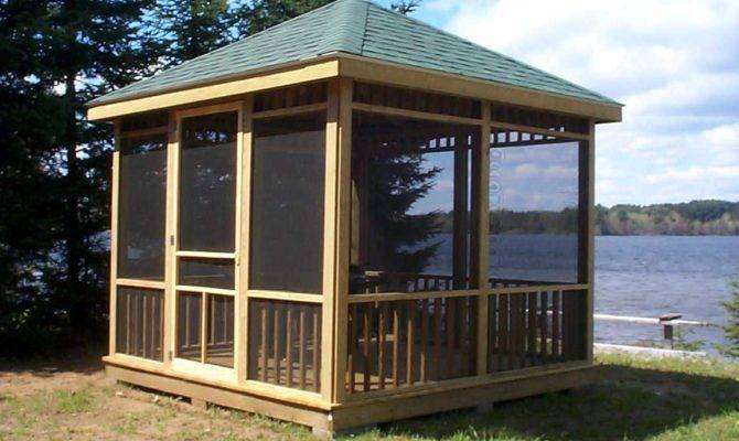Create Comfortable Gazebo Home Garden Healthy Design