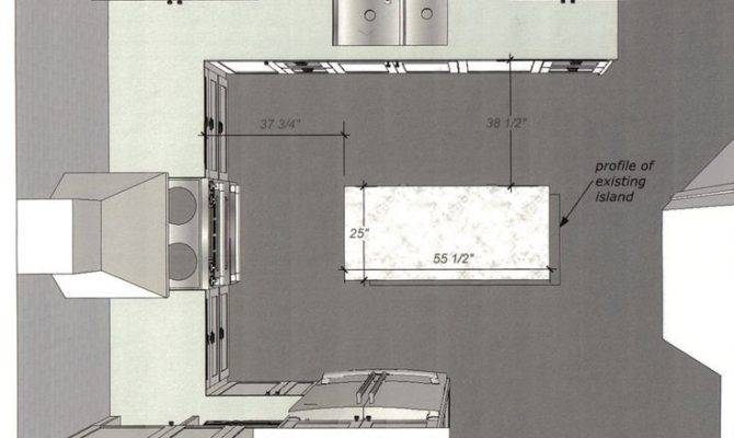 Creative Small Shaped Kitchen Floor Plans Intended
