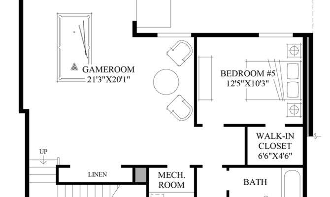 Crestview Sierra Basement Home Design