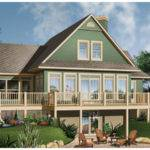 Crestwood Lake Waterfront Home Plan House