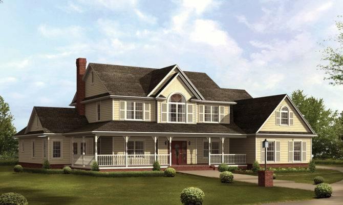 Cruden Bay Country Farmhouse Plan House Plans More