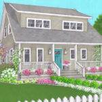 Curb Appeal Cape Cod Vibe Fits Area History