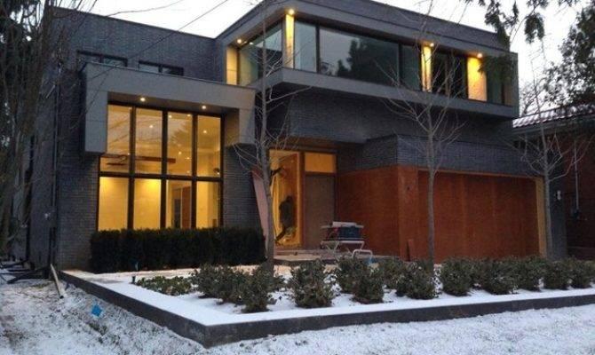 Custom Built Homes Modern Exterior Toronto