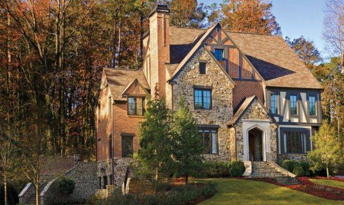 Custom Dream Homes According Your Wishes French Style Brick Wall