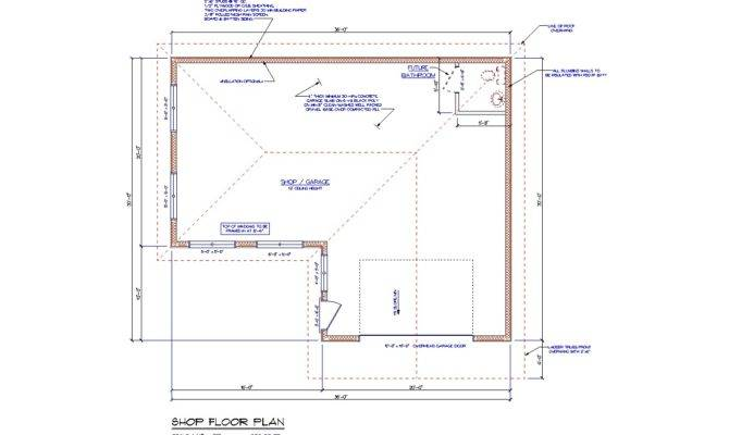 Custom Garage Floor Plans Plan