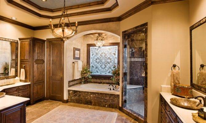 Custom Home Master Bath Austin Sterling Homes Pinter