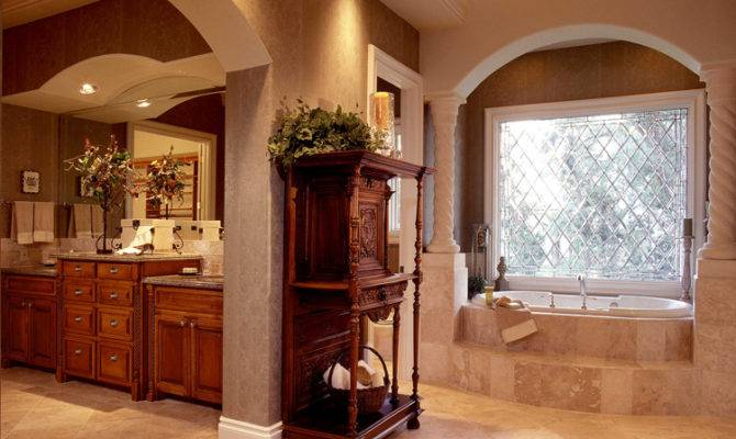 Custom Home Master Bath Things Love