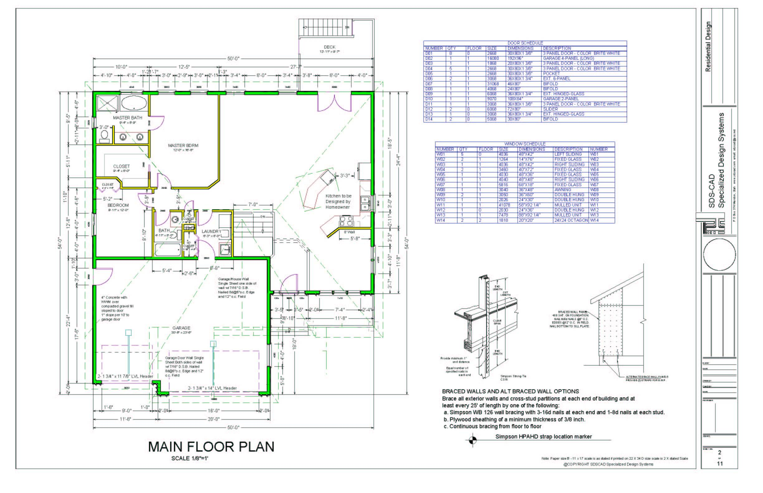 Custom House Plan Drafting Autocad Drawing Services
