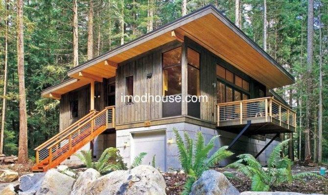 Custom Made Prefab Bungalow Homes Angle Steel Frame Permanent