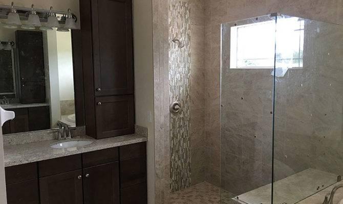 Custom Master Bath Walk Shower Rjm Homes