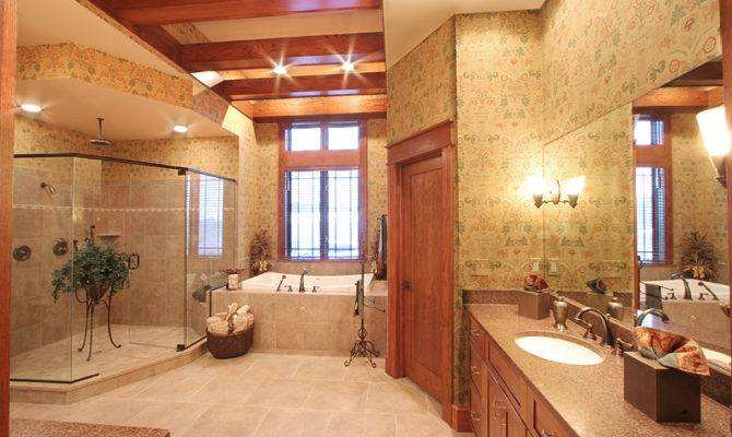 Custom Master Baths Drawn Studer Residential Designs Inc