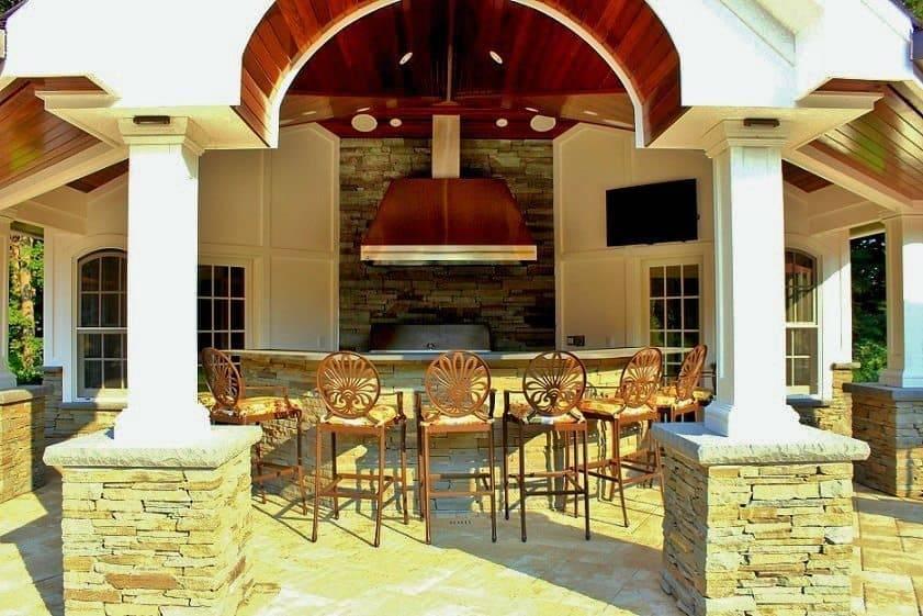 Custom Pool House Cabana