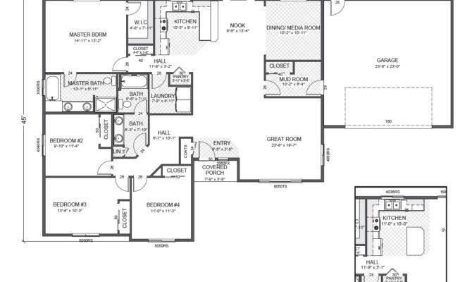 Custom Rambler Floor Plans Thefloors