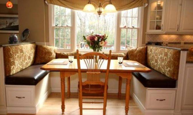 Custom Swagged Valances Banquette Seat Back Cushions