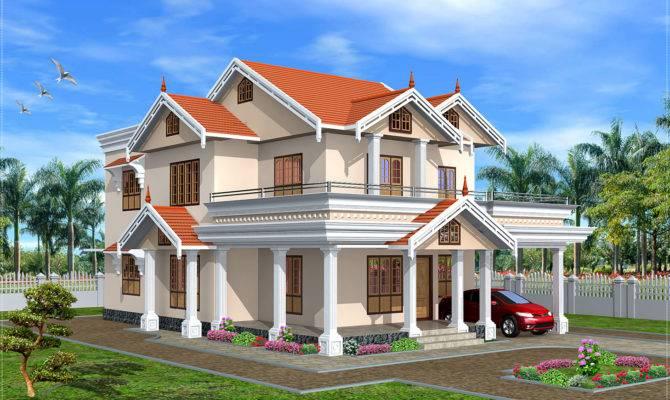 Cute Kerala Home Design Feet Floor