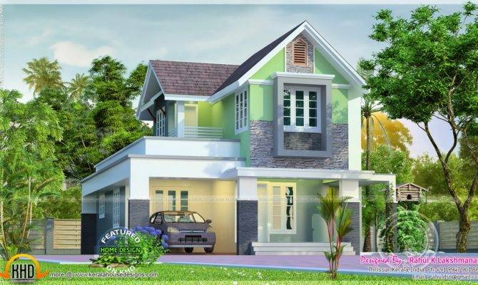 Cute Little House Plan Kerala Home Design Floor Plans