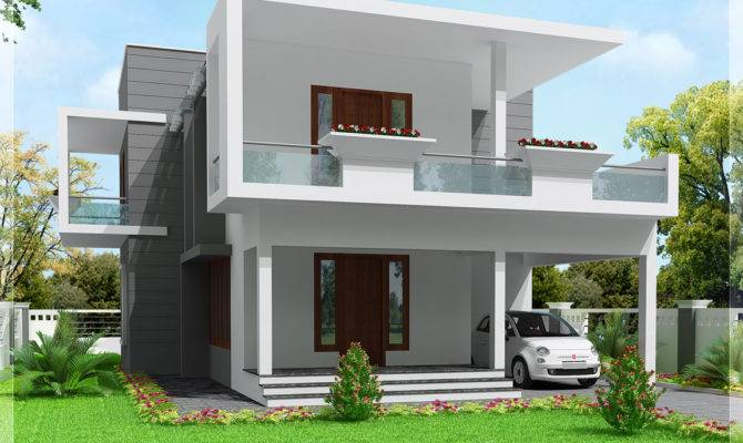 Cute Modern Bedroom Home Design Kerala