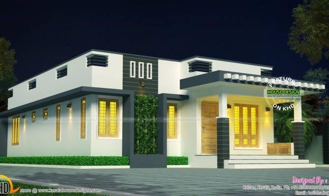 Cute Single Floor House Kerala Home Design