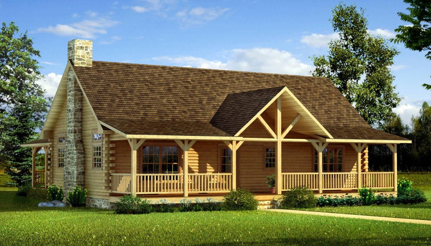 Danbury Log Cabin Kit Plans Information
