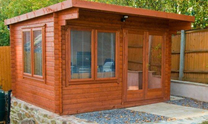 Danbury Tongue Groove Timber Log Cabin