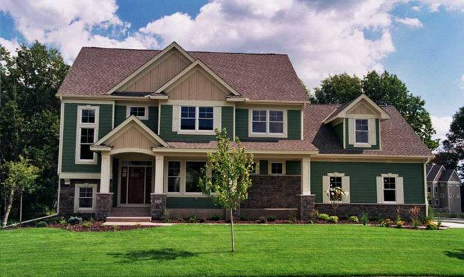 Danube Luxury Craftsman Home Plan House Plans More