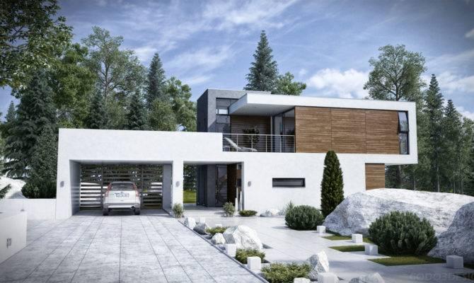 Daytime Visualization Modern House
