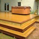 Deck Box Steps Plans Home Landscaping