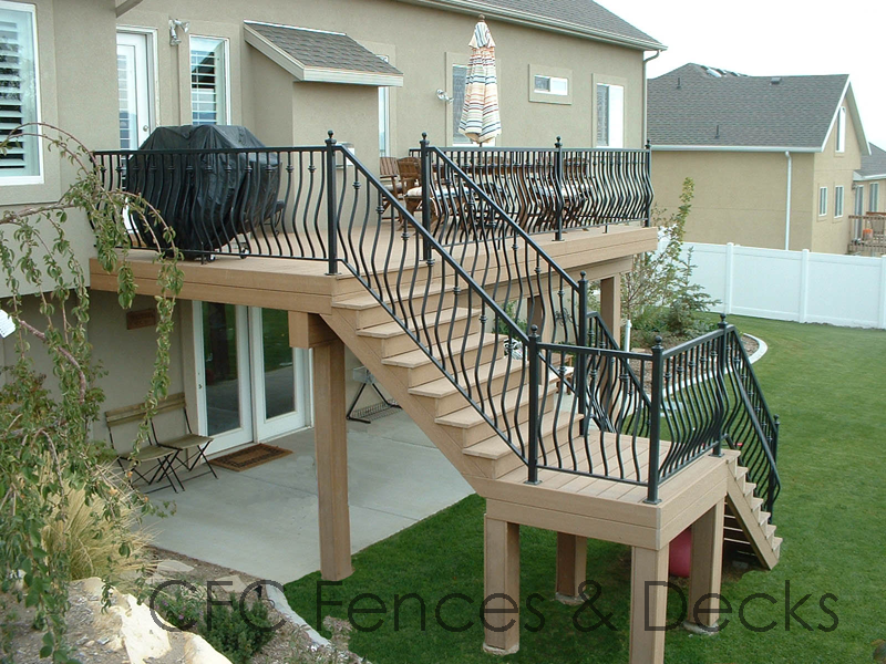 Deck Ideas Pinterest Second Story Decks Two