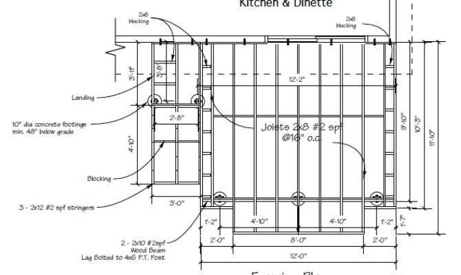 Deck Joist Installation Building Step Part