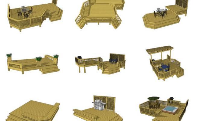Deck Plans Ground Level