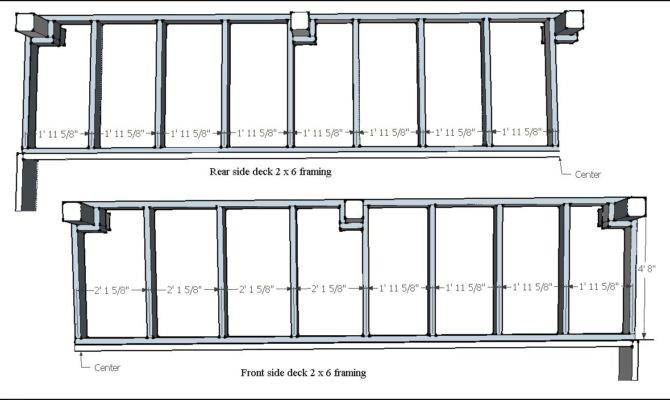 Deck Roof Framing Plans Design Ideas