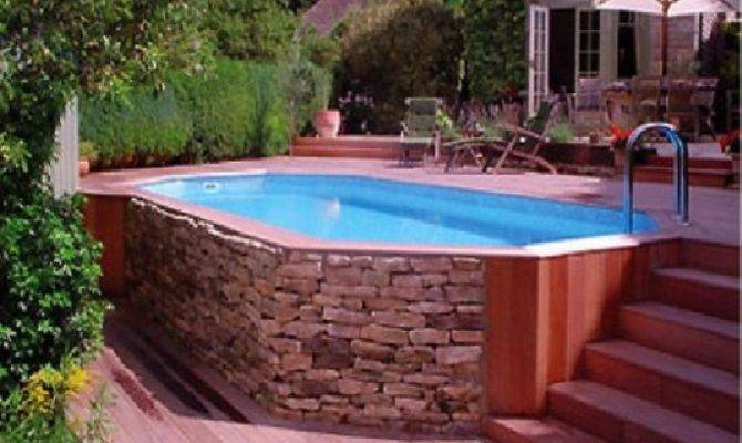 Decks Above Ground Pools Pool Deck Ideas