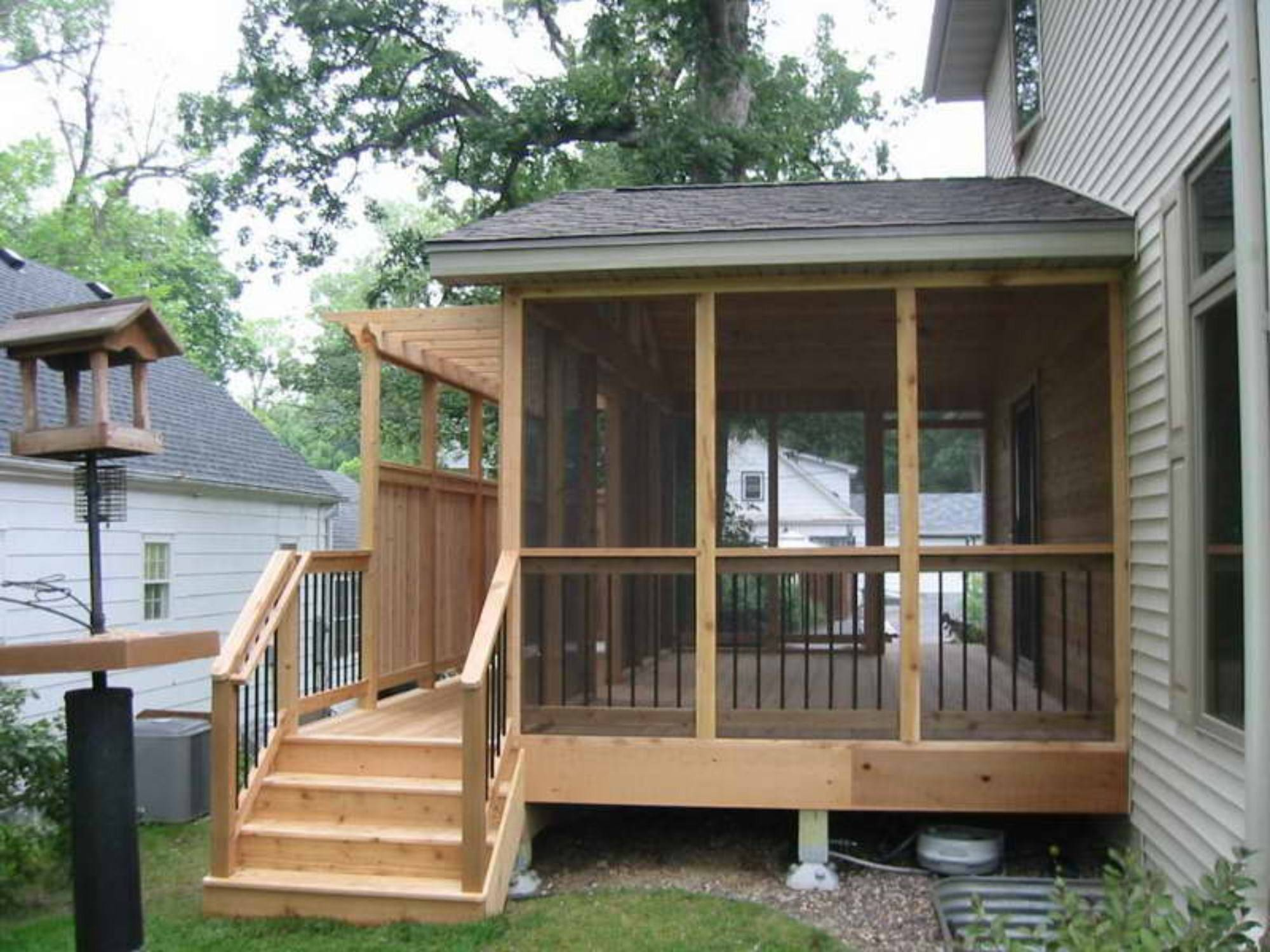 Decks Ideas Small Yard Design Fence Stair Deck