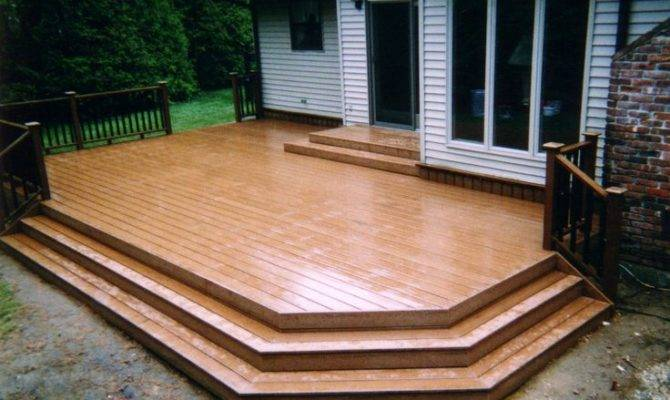 Decks Porch Inspiration Stairs Outside Pinterest
