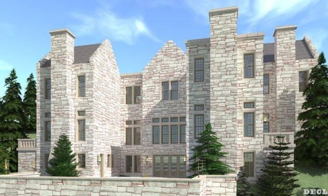 Declan Castle Plan Tyree House Plans