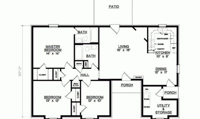 Decor Home Designs Big House Three Bedroom Rooms Plan