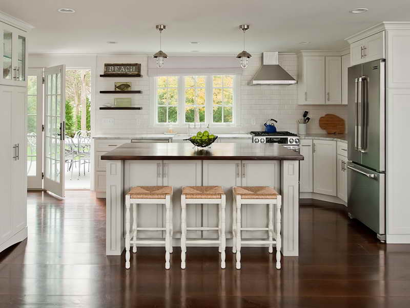 Decorate Beach Kitchen Ideas Hardwood Flooring